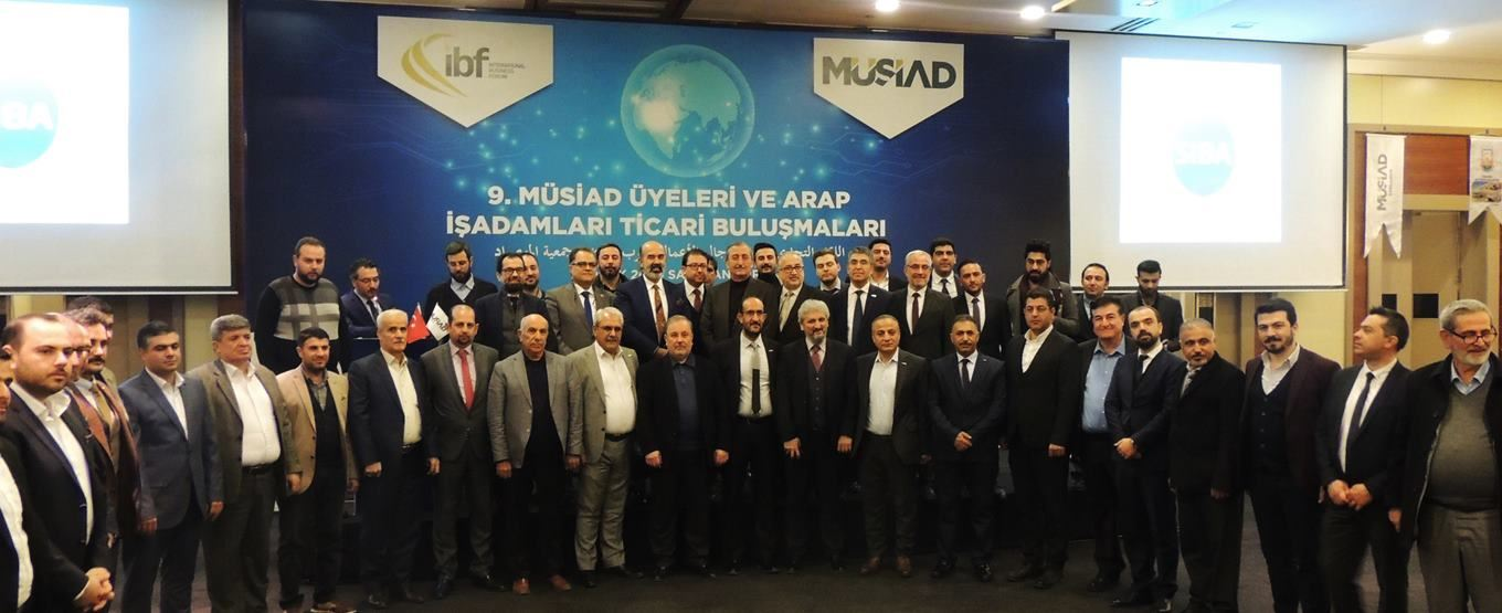THE 9TH MUSIAD MEMBERS AND ARAB BUSINESSMEN COMMERCIAL MEETING WAS HELD IN SANLIURFA